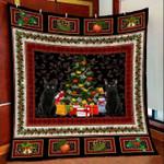 Black Cat Christmas DTC2311812 Quilt Blanket