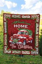 Red Truck Christmas DTC2311721 Quilt Blanket