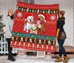Bulldog Christmas DTC2311803 Quilt Blanket