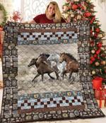 Horse DAC231102 Quilt Blanket