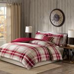 Red Plaid DAC231134 Bedding Set