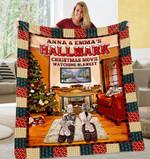 Best Friend Christmas Personalized DAC231101 Fleece Blanket