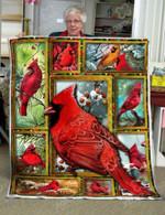 Cardinal DAC231102 Fleece Blanket