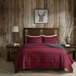 Woolrich Check Red DAC231146 Bedding Set
