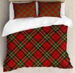 Christmas Colors Geometrical Crossed Stripes DAC231109 Bedding Set