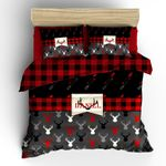 Deer Christmas Personalized DAC231116 Bedding Set