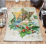 Vintage Christmas TNT231106NH Rug
