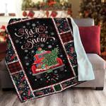 Christmas LML231112DT Sherpa Fleece Blanket