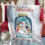 Poodle Christmas DTH231102HD Sherpa Fleece Blanket