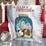 Guinea Pig Christmas DTH231103HD Sherpa Fleece Blanket