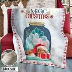Dachshund Christmas DTH231105HD Sherpa Fleece Blanket
