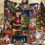 Santa HHH231109TN Sherpa Fleece Blanket