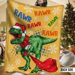 Dinosaur HHH231105TN Sherpa Fleece Blanket