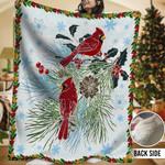 Cardinals HHH231104TN Sherpa Fleece Blanket