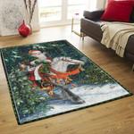 Santa Claus Ride A Horse DPT231105VL Rug