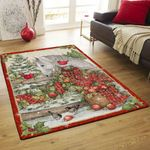 Horse With Cardinal Birds DPT231104VL Rug