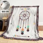 Dreamcatcher AAA241104TA Sherpa Fleece Blanket