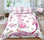 Pink Turtle and Mermaid DAC241142 Bedding Set