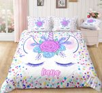Unicorn Personalized DAC241161 Bedding Set