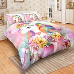Flowers Majestic Unicorn DAC241136 Bedding Set