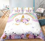 Floral Lash Unicorn DAC241135 Bedding Set
