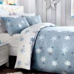 Christmas Snowflake Blue DAC251107 Bedding Set