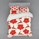 Poinsettia Flowers DAC251135 Bedding Set