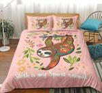 Sloth Pink DAC251141 Bedding Set