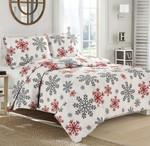 Red Snowflake DAC251138 Bedding Set