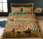 Cowboy Western PTC251114 Bedding Set