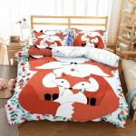 Lovely Fox Family PTC251125 Bedding Set