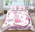 Pink Turtle and Mermaid PTC251127 Bedding Set
