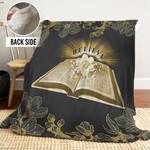 Bible PTT251113QT Sherpa Fleece Blanket