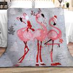 Flamingo Christmas DPT251104VL Sherpa Fleece Blanket