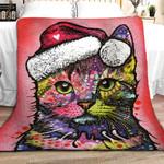 Cat Christmas DPT251107VL Sherpa Fleece Blanket