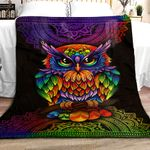Owl Mandala DPT251108VL Sherpa Fleece Blanket