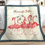 Flamingo Bells DPT251102VL Sherpa Fleece Blanket