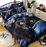 3D Black Cat DAC261149 Bedding Set
