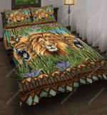 Strong Lions On Desert DTC2611905 Bedding Set