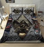 Skulls Rock With Guitar DTC2611907 Bedding Set