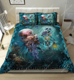 Skull Undersea DTC2611908 Bedding Set