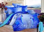 Blue Ocean Dolphins DAC271133 Bedding Set