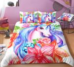 Floral Princess Unicorn DAC271124 Bedding Set