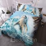 3D Shark DAC271138 Bedding Set