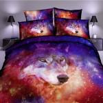 3D Wolf DAC271136 Bedding Set