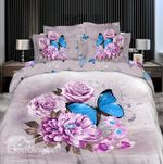 3D Blue Butterfly DAC271143 Bedding Set