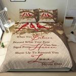 Vintage Cardinal Quote PTC271119 Bedding Set