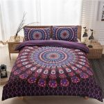 Purple DAC30118 Bedding Set