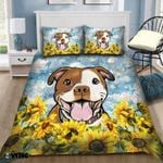 Sunflower Pittbull PTC021223 Bedding Set