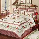 Christmas Cardinal MMC03122145 Bedding Set